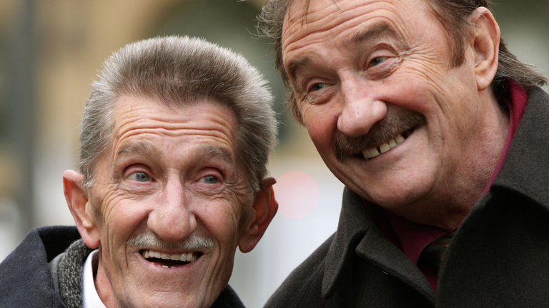 Barry Chuckle died in 2018