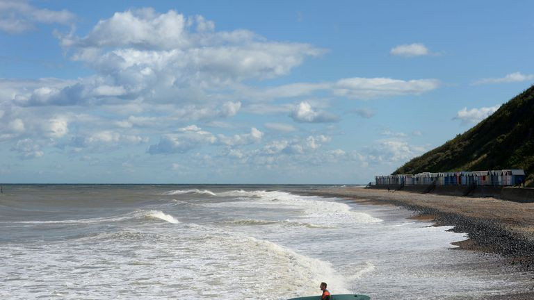Cromer beach, East of England has been awarded a Blue Flag award by Keep Britain Tidy.