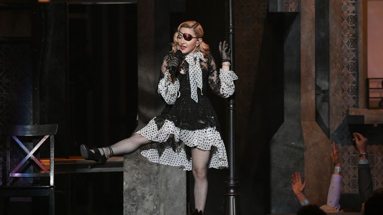 Madonna at the Billboard Music Awards 2019 in Las Vegas