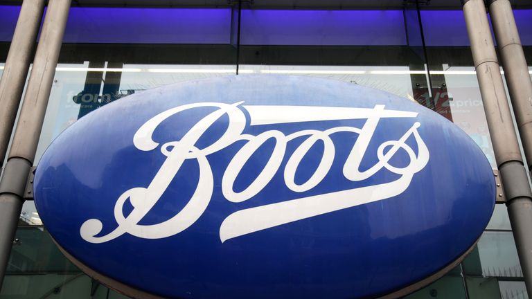 File photo dated 29/05/18 of a branch of Boots on Oxford Street, central London