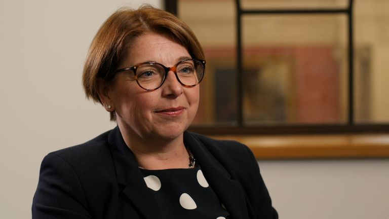 Sarah Breeden, the Bank of England's executive director for international banks supervision