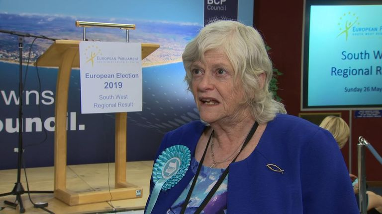 Anita Whitcomb, member of the newly elected Breitette Party, said.