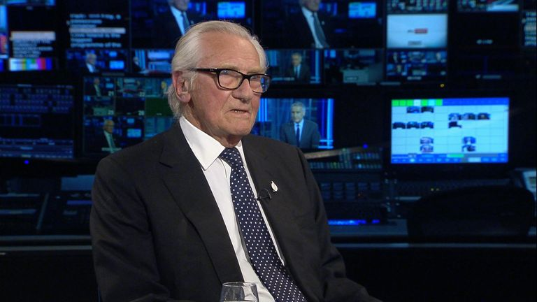 "Lord Heseltine says he wouldn't ""sacrifice"" his own judgement for the sake of Britain's ""self interest"""