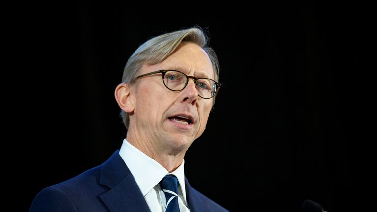 Brian Hook said the US had received credible threats over Iran