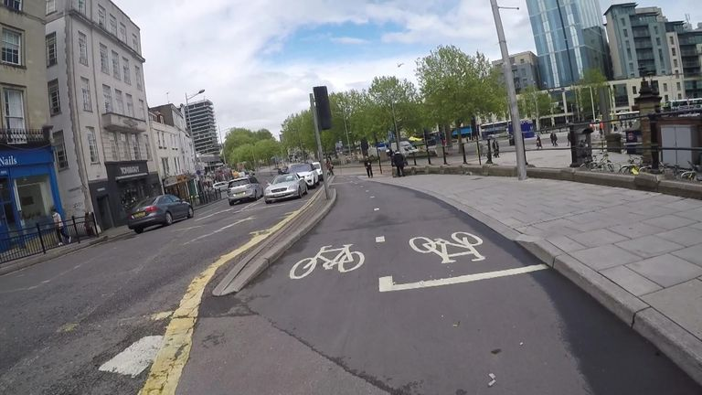 Bristol is well-served for dedicated cycle lanes