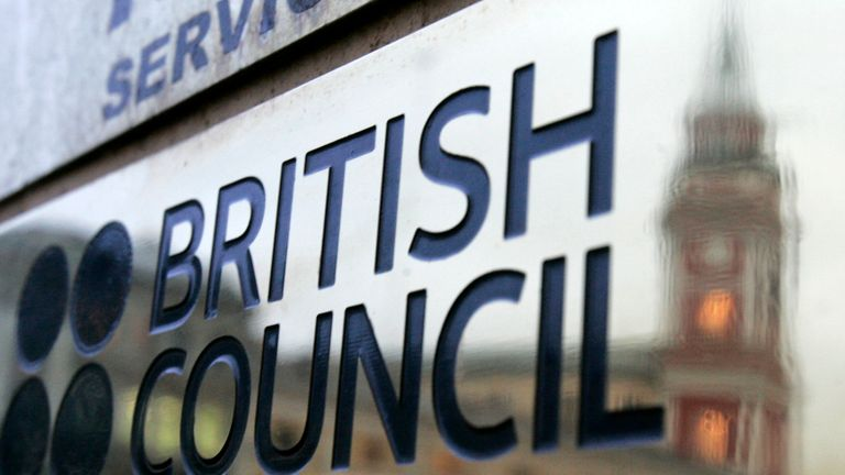 The national worked for the British Council on the Iran desk