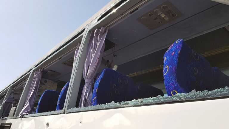 Bus blast in Cairo
