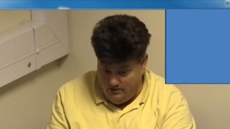 The court was shown a 2014 police interview with Carl Beech