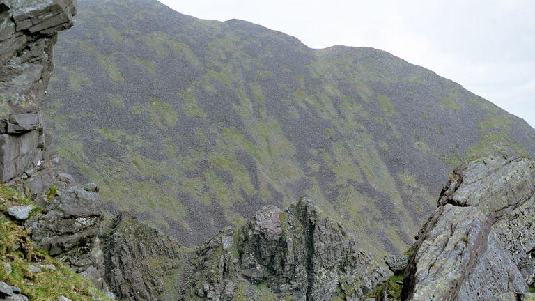 Carrauntoohil is the highest mountain in Ireland