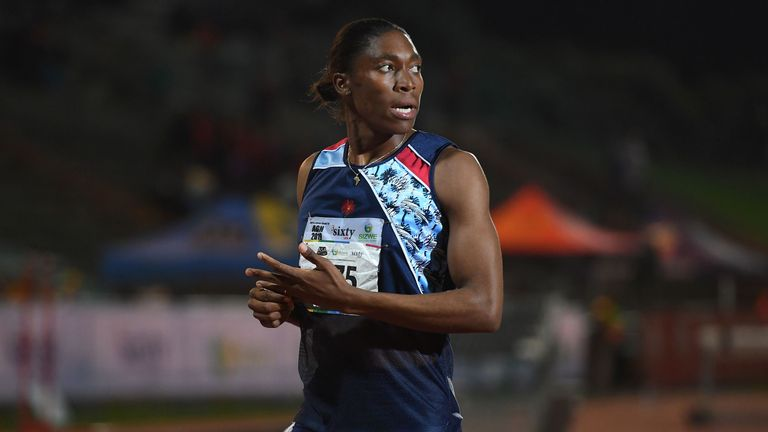 Semenya is a two-time Olympic 800m champion