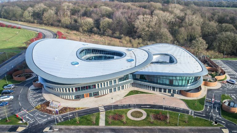 The £18m complex is the first of its kind in the UK