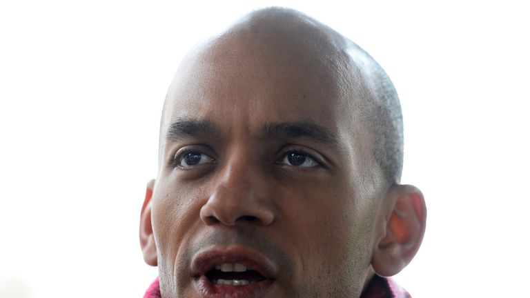 Chuka Umunna said David Macdonald had 'let down his fellow candidates'