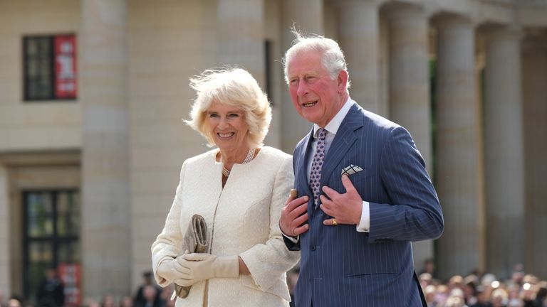 Charles and Camilla are in Berlin