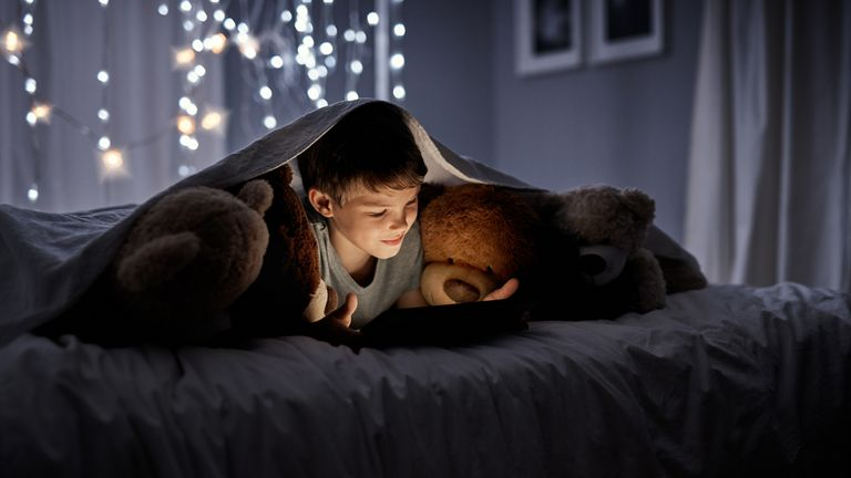 Children are getting their bedtime stories from technology