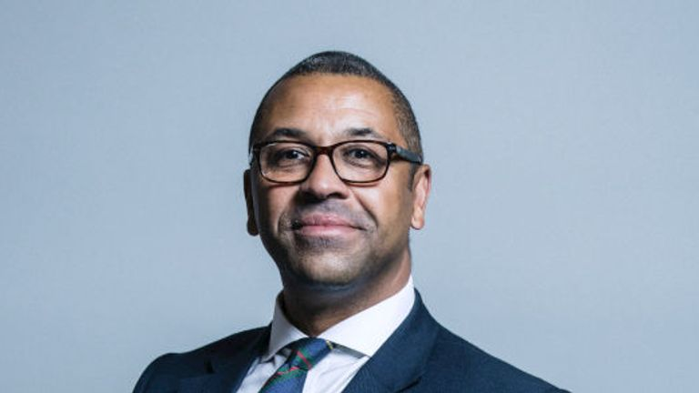 James Cleverly became the 11th person to declare they will run