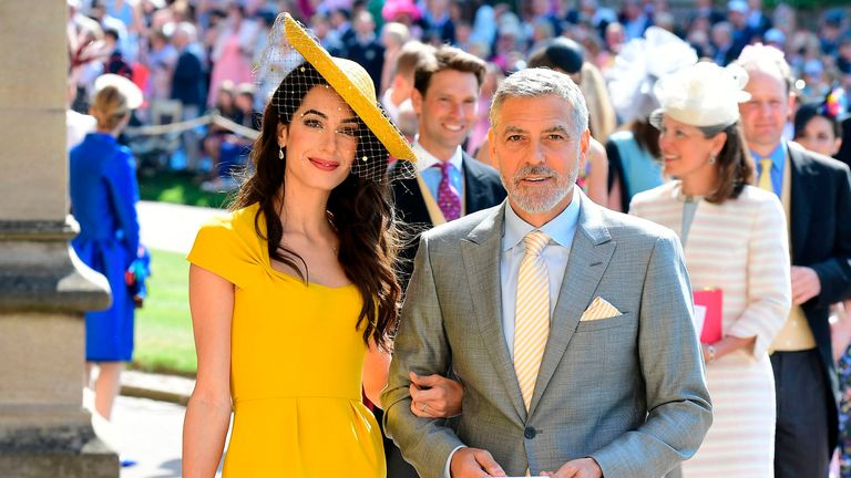 George and Amal Clooney are close friends of Meghan Markle
