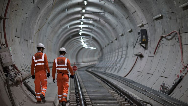 Crossrail is over schedule and over budget