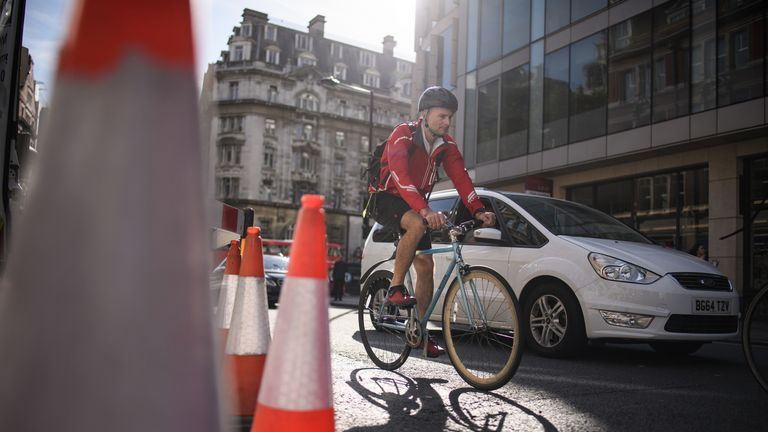 More than 70% of cyclists think motorists are often hostile to them