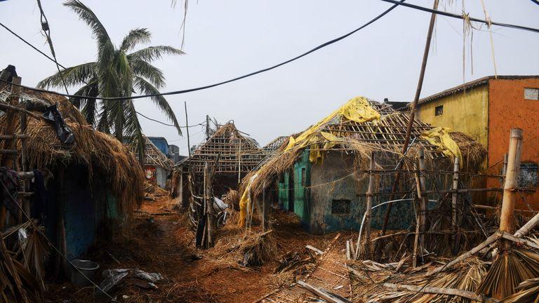 Image result for Cyclone Fani Kills 12 In India As It Barrels Towards Bangladesh