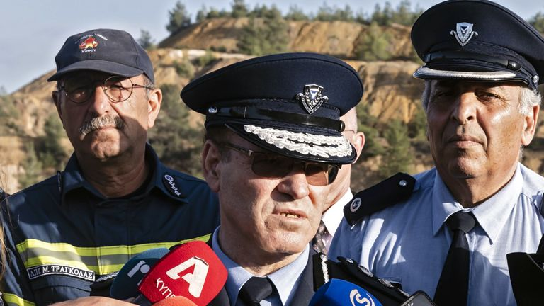 Cyprus police chief Kypros Michaelides has apologised for the handling of the case