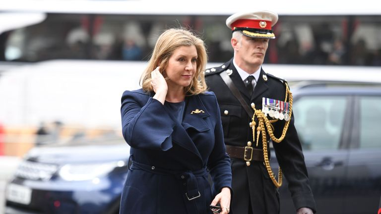 The Defence Secretary Penny Mordaunt is set to outline the proposals