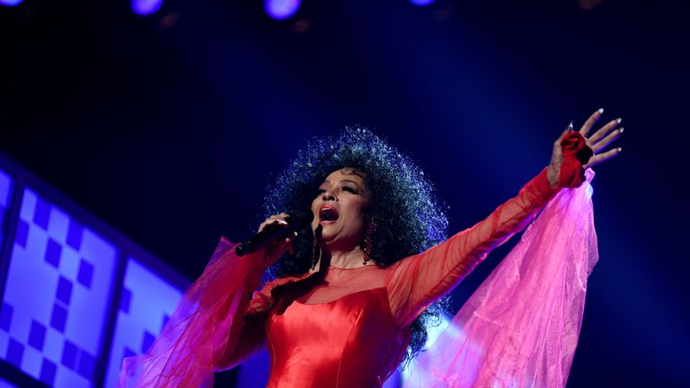 Diana Ross, pictured here performing at the 2019 Grammy Awards, spoke out about how she was searched