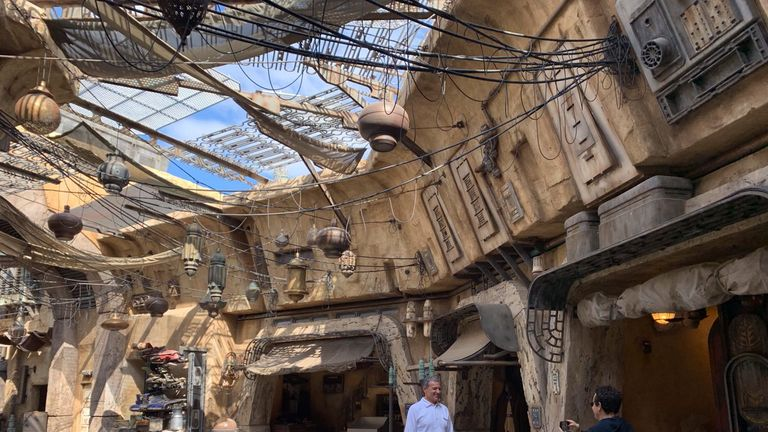 Robert Iger took friends on a private tour of the attraction
