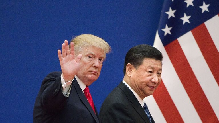 'It's a lovefest': Trump celebrates phase one trade agreement with China