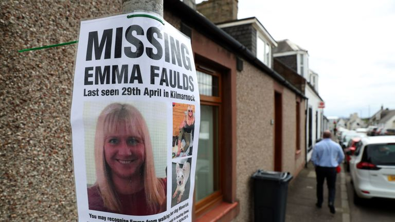 Emma Faulds has not been seen since 29 April