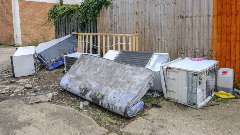 No one has been given the maximum £50,000 fine or 12-month prison sentence for fly-tipping