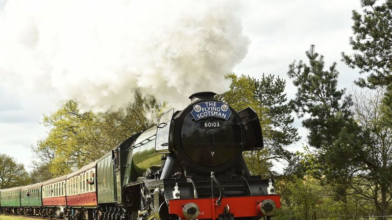 The Flying Scotsman could be banned from main line tracks