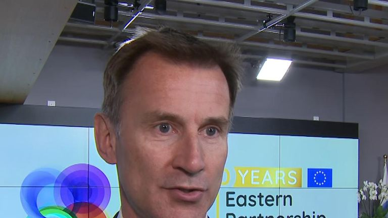 Jeremy Hunt 'worried' about US-Iran conflict
