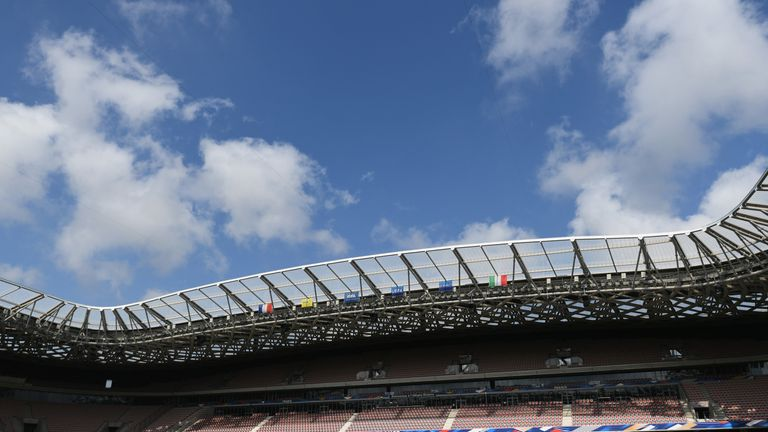The Allianz Riviera where Scotland will face England