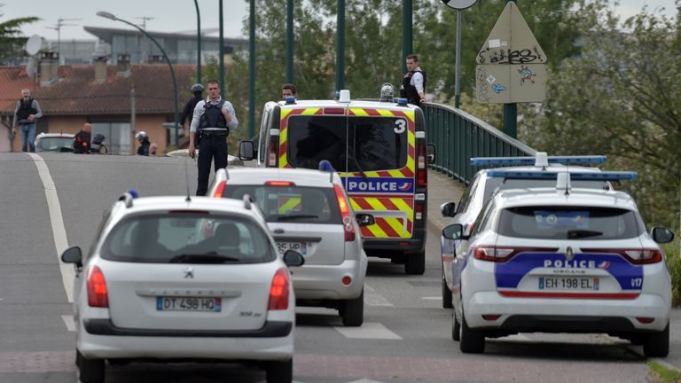 Armed man takes multiple hostages in southern France