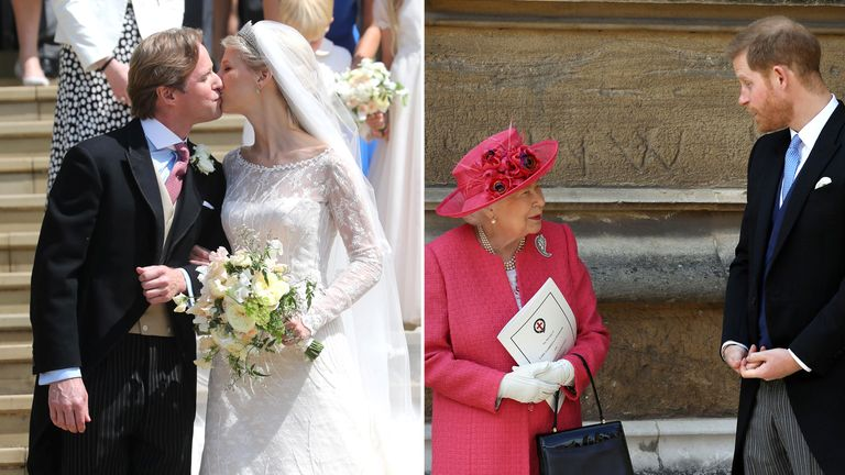 Royal Wedding Kiss.Sealed With A Kiss Lady Gabriella Windsor Marries In Front