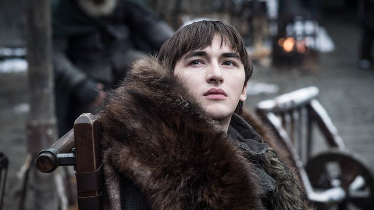 Isaac Hempstead Wrigtht as Bran Stark. Pic: HBO/Sky Atlantic