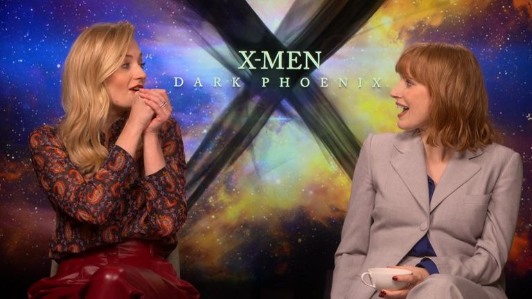 Stars of the latest X-Men movie talk to Sky News about their feelings on the end of Game Of Thrones.