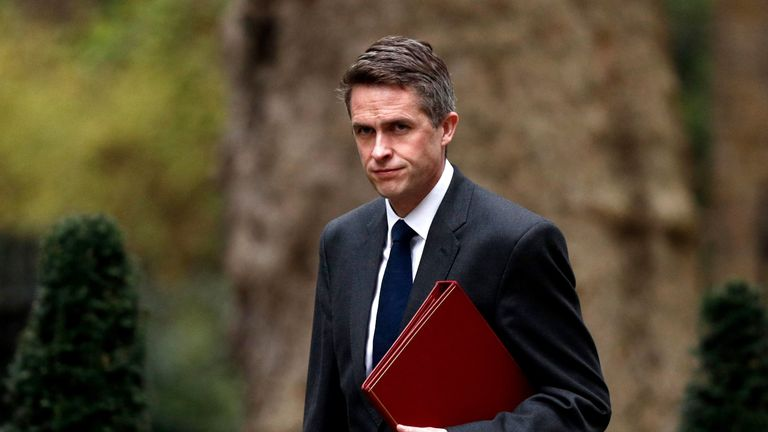 "Gavin Williamson said Theresa May's attempts to do a cross-party Brexit deal are ""destined to fail"""