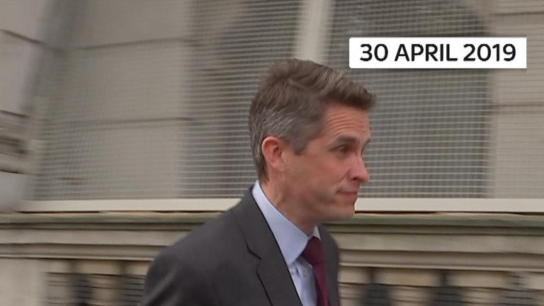 Former defence secretary denies involvement in Huawei leaks on 30th April