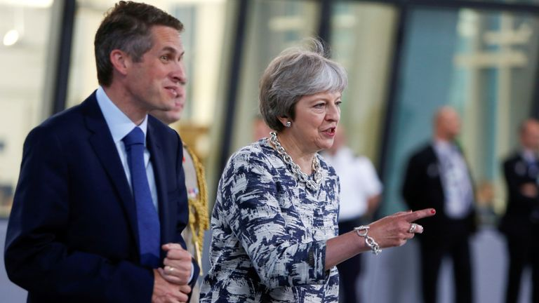 Gavin Williamson had been a loyal supporter of Theresa May