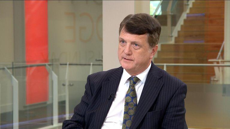 UKIP leader Gerard Batten MEP