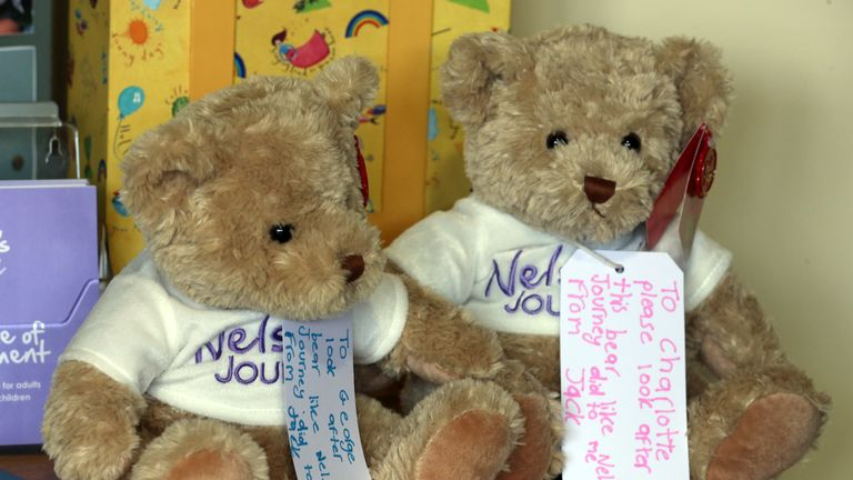 Presents for George and Charlotte from Jack