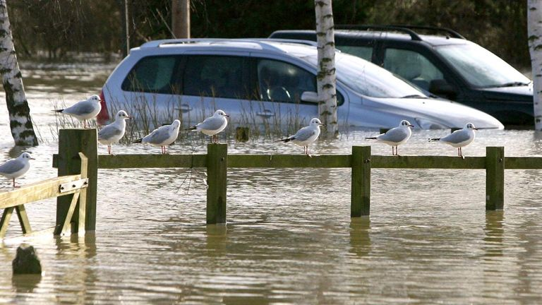 The flood risk for some communities is so high the locals may have to be relocated