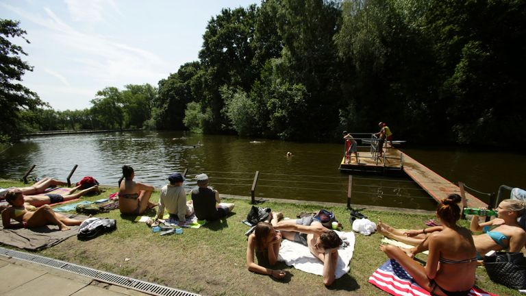 A survey showed most people supported transgender women using Hampstead ponds