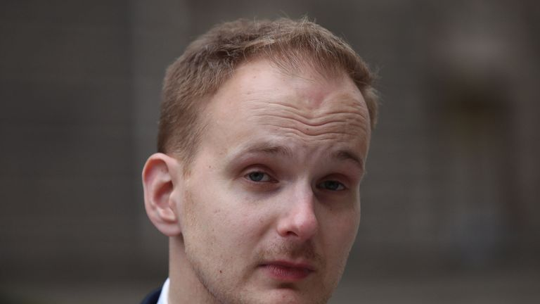 James Hodder, partner of Australian nurse Kirsty Boden