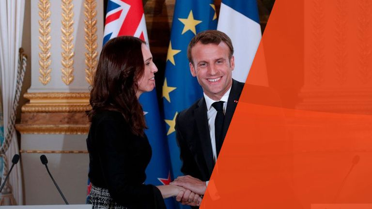 Jacinda Ardern and Emmanuel Macron launched the 'Christchurch Call' initiative to tackle the spread of extremism online