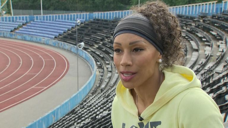 Jade Johnson joined her coach at 18 years old