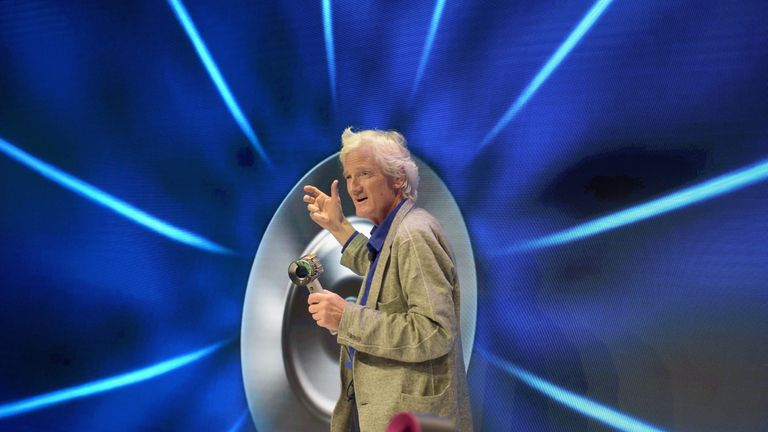 Sir James Dyson is famed for his Dyson vacuum cleaners