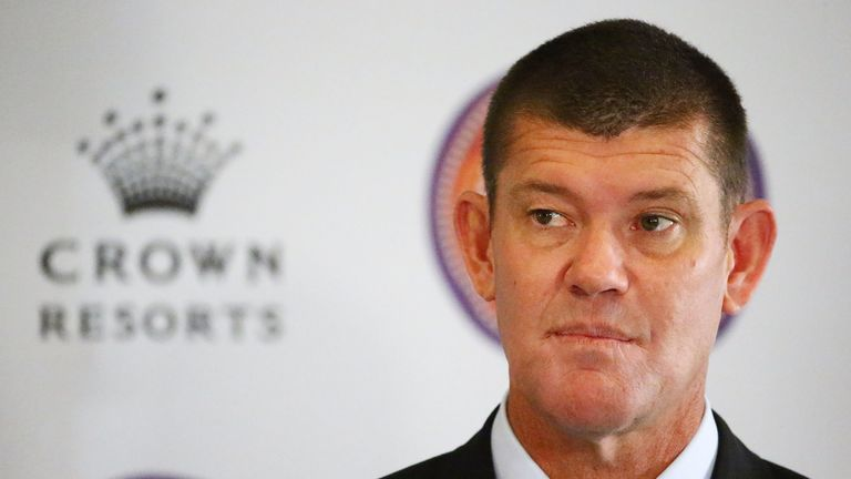 James Packer launches Crown Resorts' second Reconciliation Action Plan  on July 31, 2015 in Melbourne