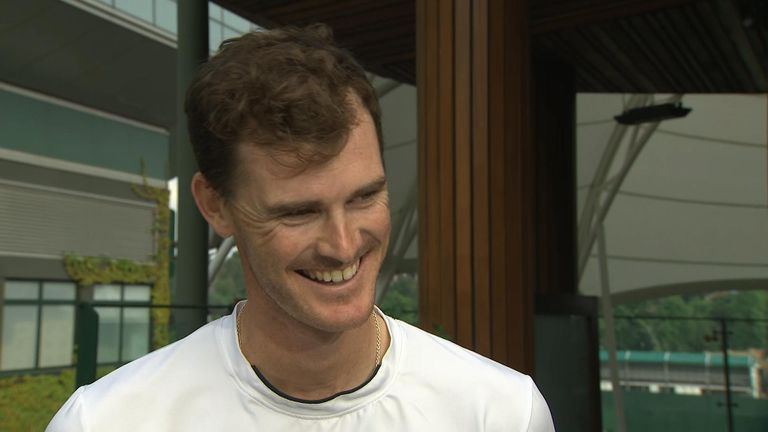 Jamie Murray said he hoped he would play doubles with his brother again one day
